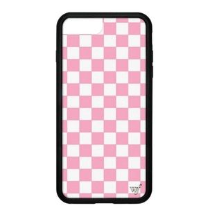 WILDFLOWER Pink Checkers iPhone 6/7/8 Plus Case